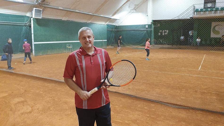 Майстер-клас гри у великий теніс у Тернополі
