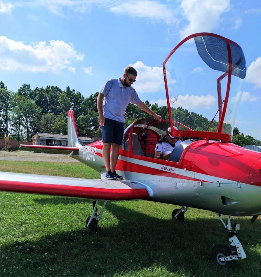 Політ на літаку STORM-300