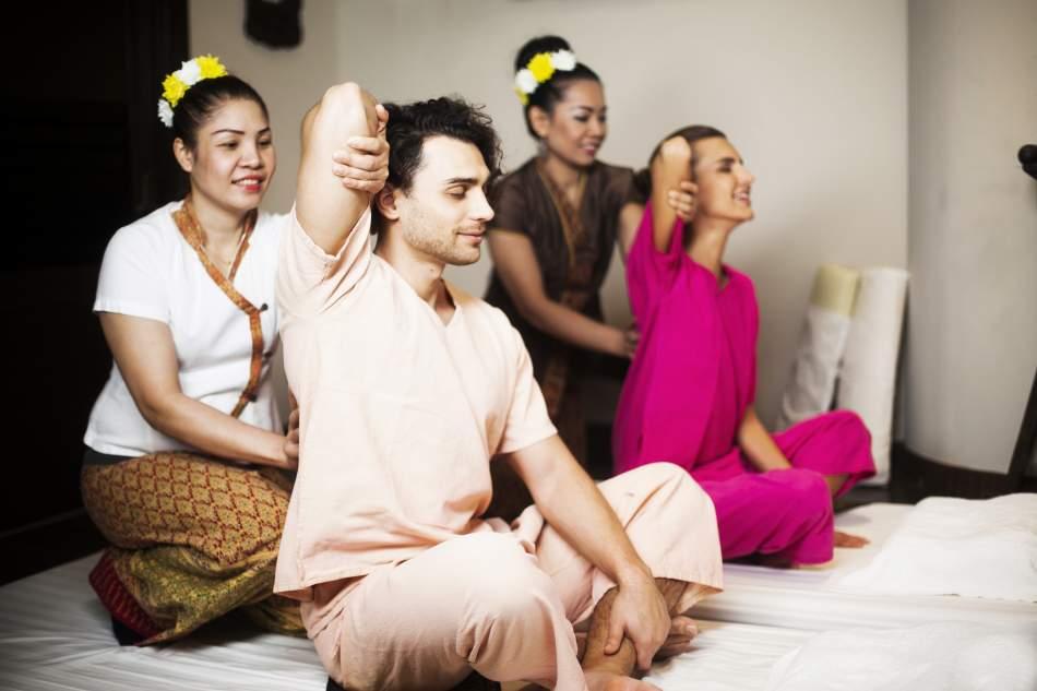 Тайський традиційний масаж для двох