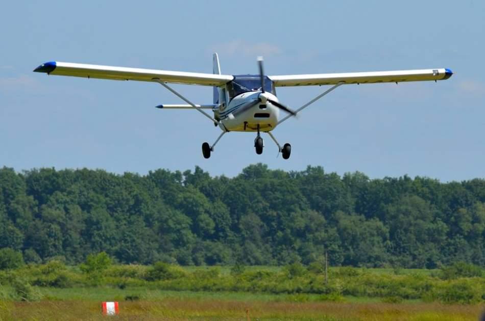 Ознайомчий політ у Львові на літаку K-10 Swift