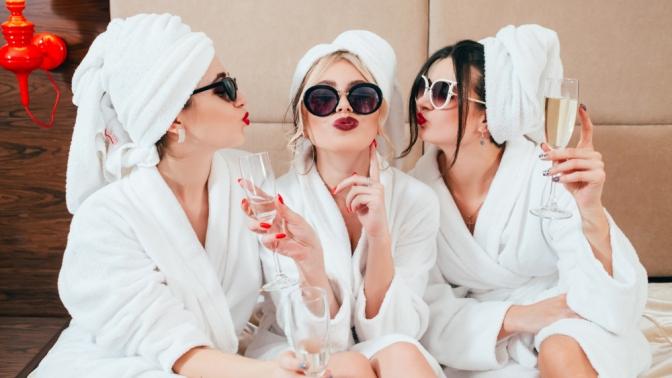 SPA-вечеринка «Four girls»