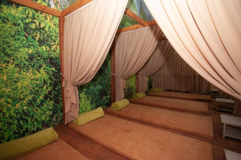 Відпочинок в японських чанах + масаж