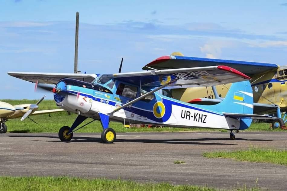 Політ у Львові на літаку Як-12 на трьох