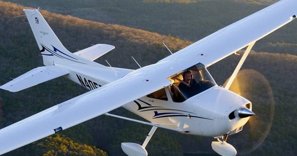 Політ для трьох на літаку Cessna-172 над Хмельницьким