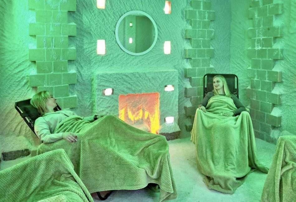 Відпочинок у соляній кімнаті