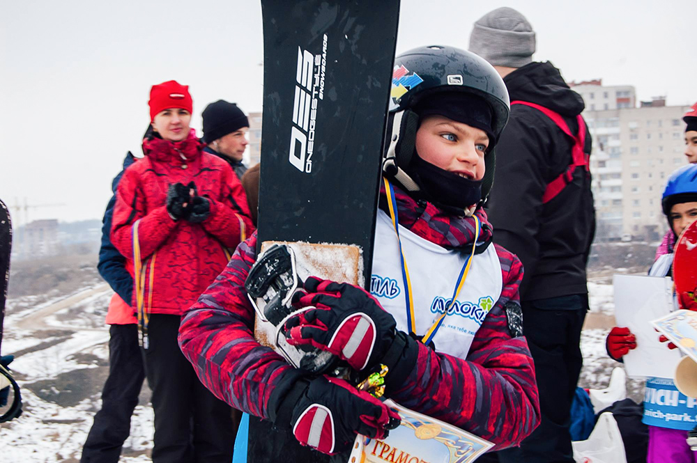 Мастер-класс по катанию на лыжах с инструктором в Тернополе