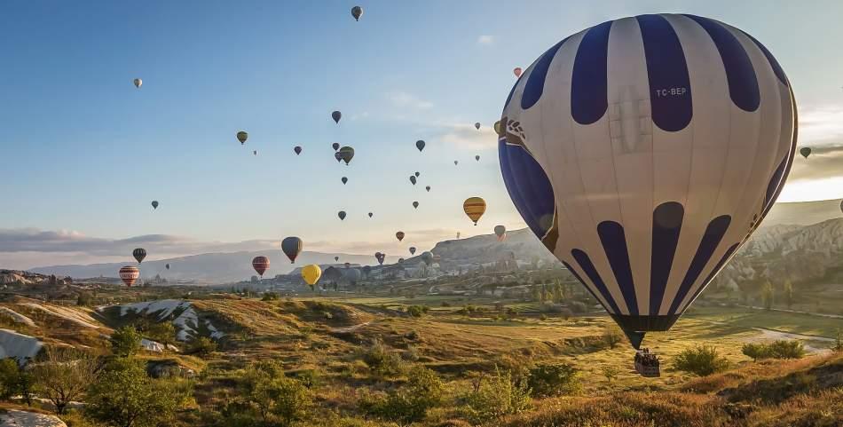 Політ на повітряній кулі на компанію в Кам'янець-Подільському
