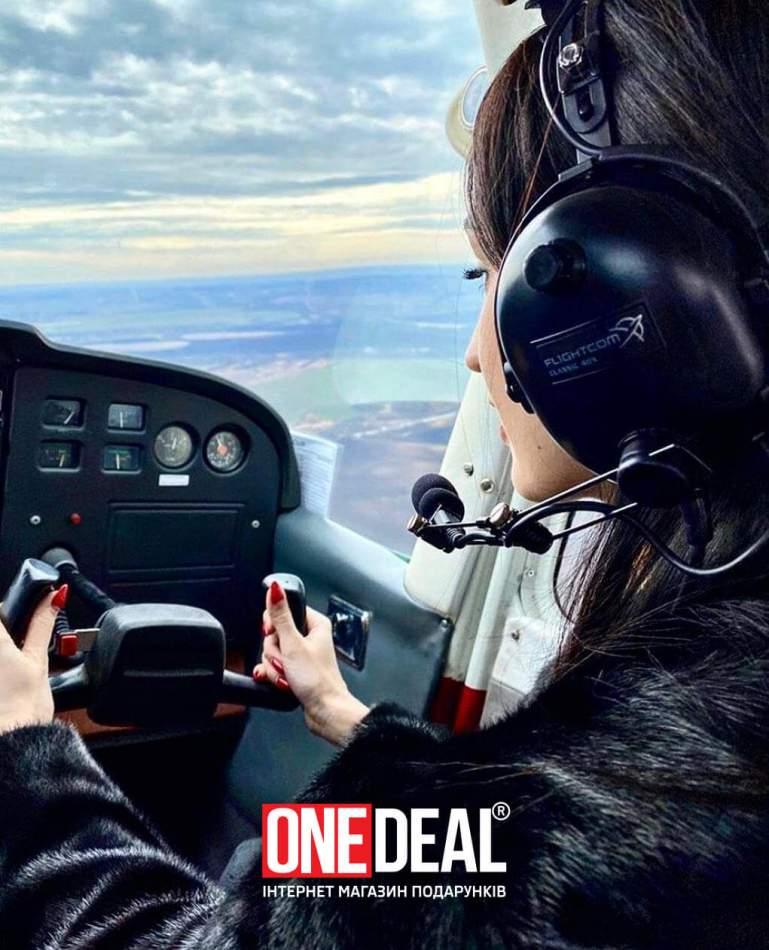Політ на літаку над Меджибожем