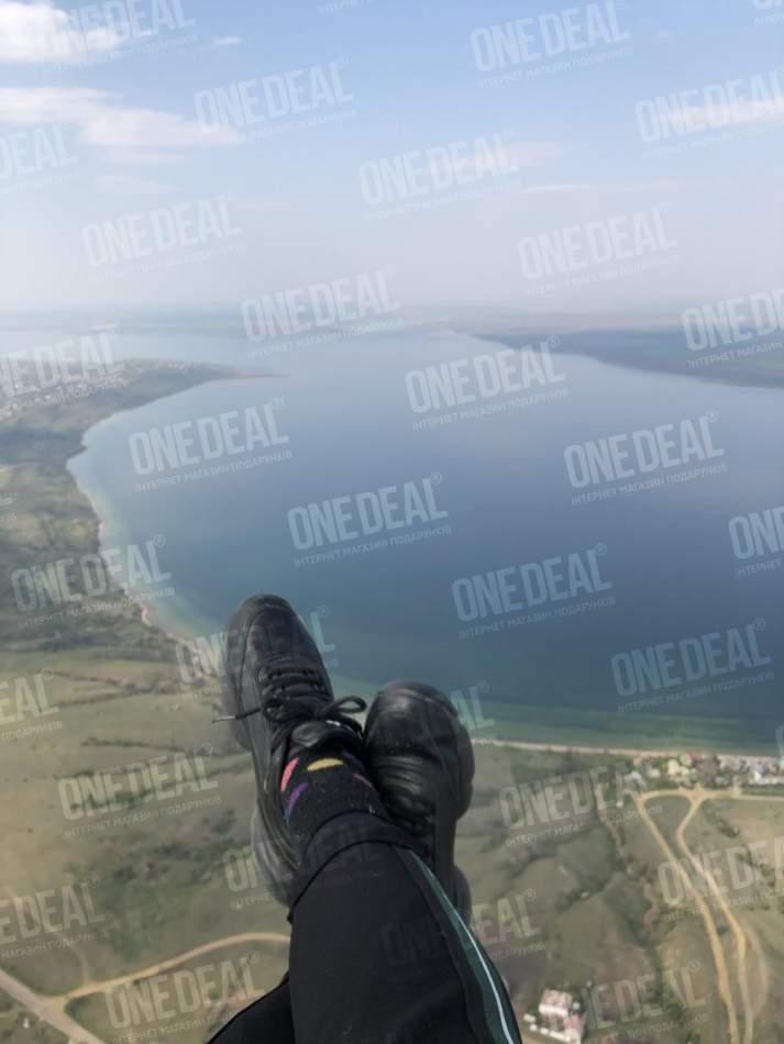 Політ на парамоторі в Одесі з відеозйомкою