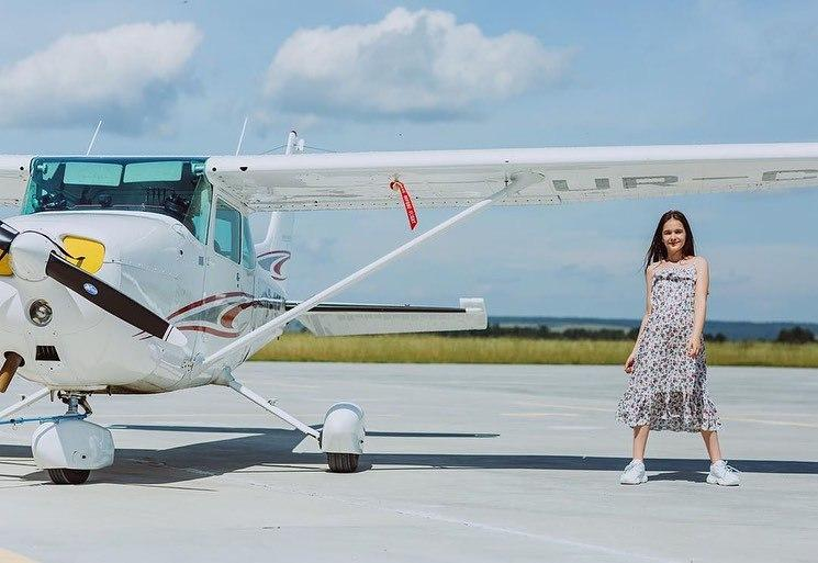 Політ над Гутою та резиденцією 'Синьогора' на літаку Cessna 172