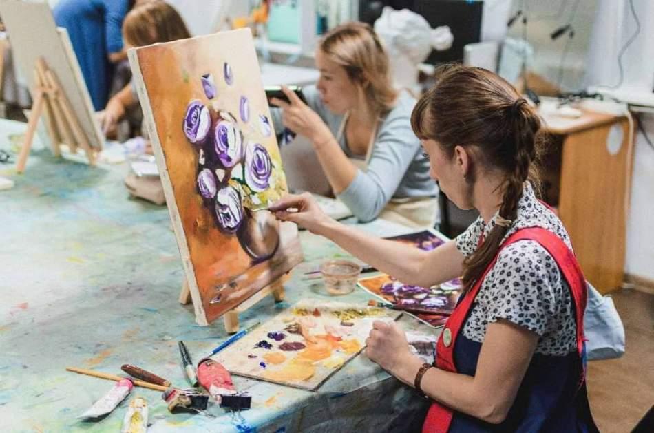 Майстер-клас з олійного живопису