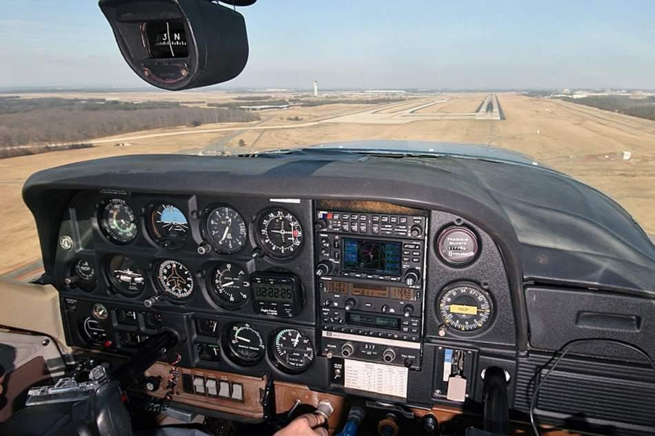 Політ на літаку Cessna-172 над Тернополем