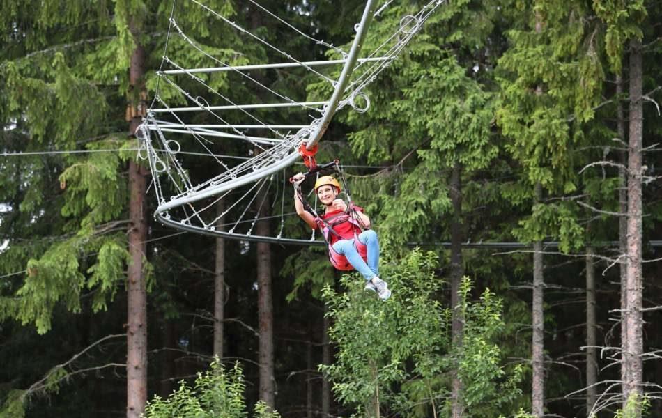 Roller Coaster zipline з відеозйомкою в Буковелі