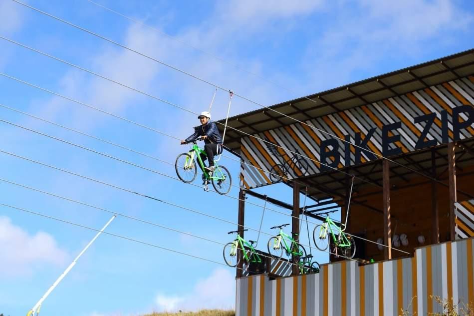 Bike Zip з відеозйомкою в Буковелі