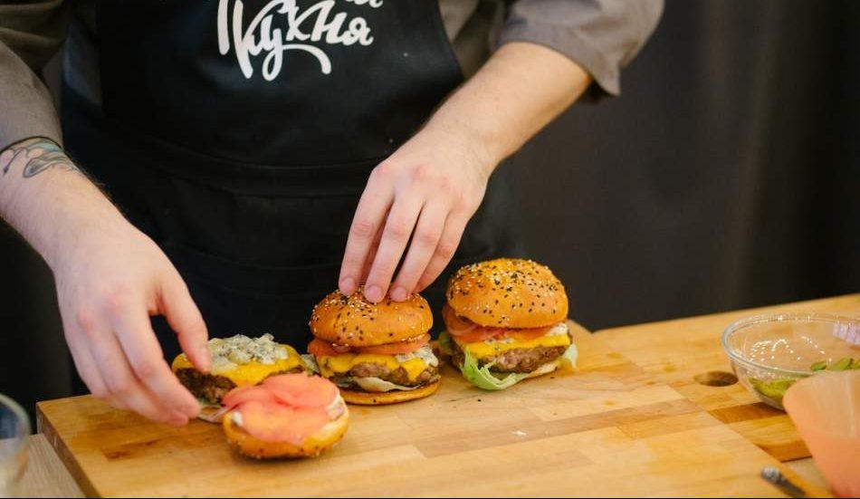 Майстер-клас з приготування бургера