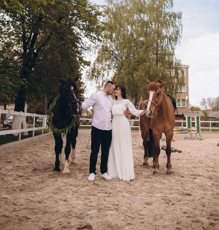 Катання на конях для двох