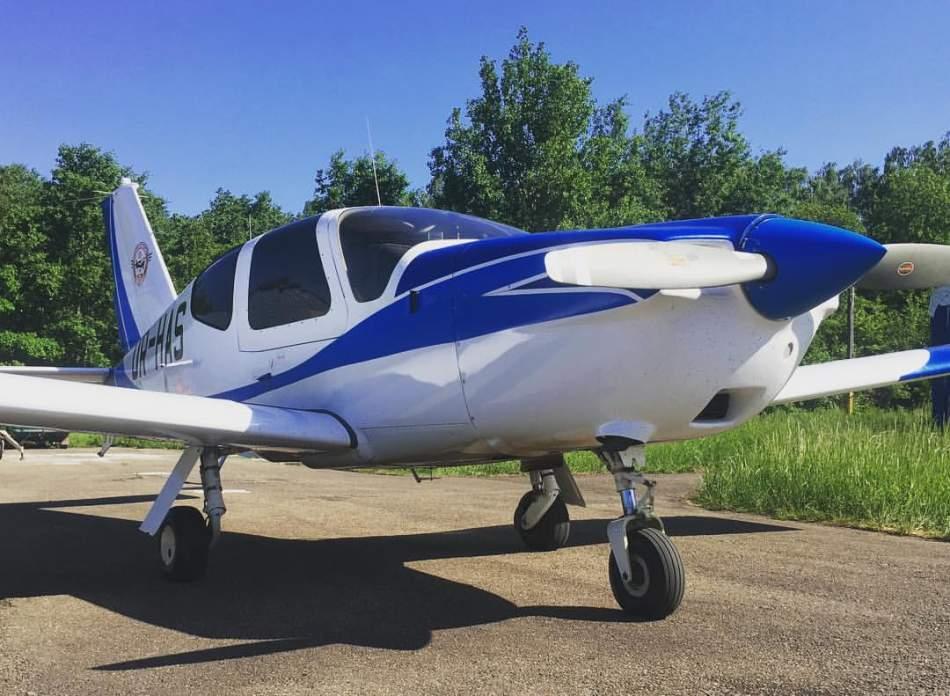 Політ над Львовом на літаку Socata TB-20 на чотирьох
