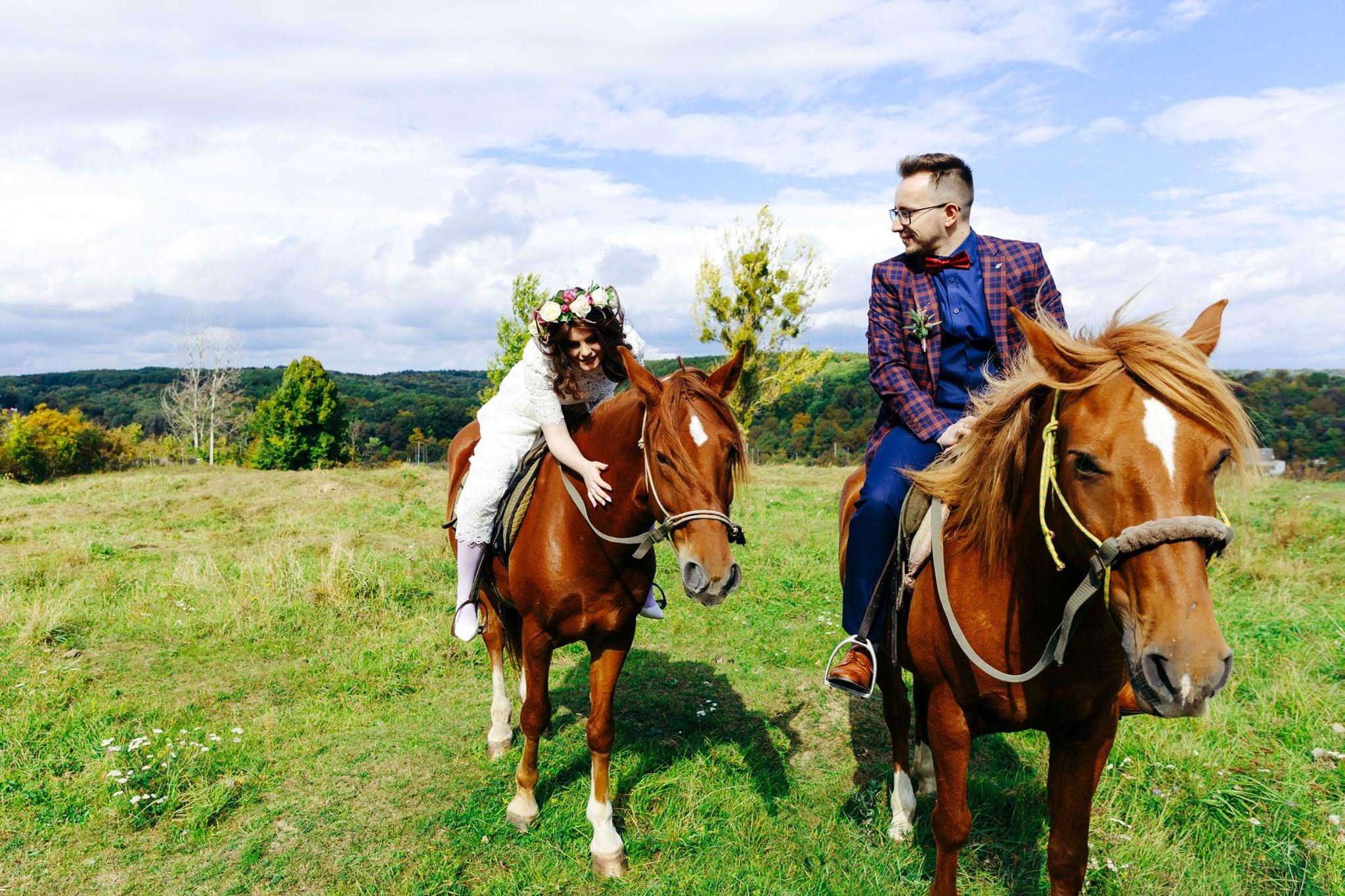 Фотосессия с лошадью для двоих