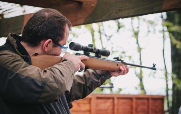Стрільба з пневматичної рушниці