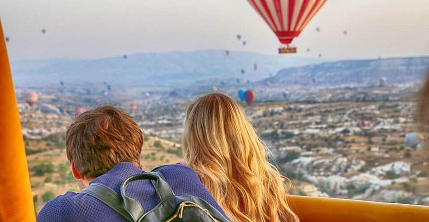 VIP-політ на повітряній кулі в Києві