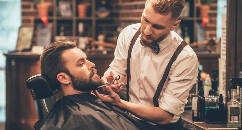 Стрижка бороди та вусів в барбершопі Хмельницький
