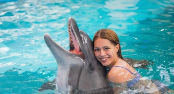 Плавання з дельфінами