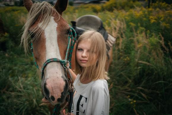 Фотосесія з конем