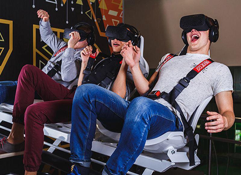 Віртуальний атракціон XRIDE у Тернополі