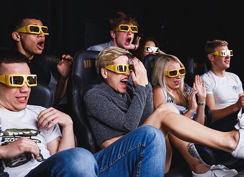 Віртуальний 7D кінотеатр для компанії у Тернополі