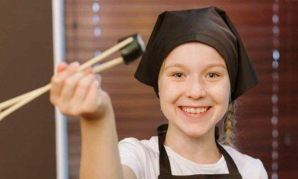 Майстер-клас з приготування суші у Тернополі