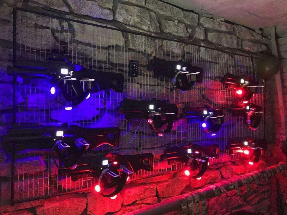 Лазертаг на компанію в Тернополі