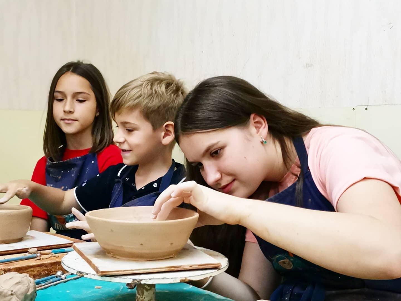 Семейный мастер-класс Гончарства во Львове