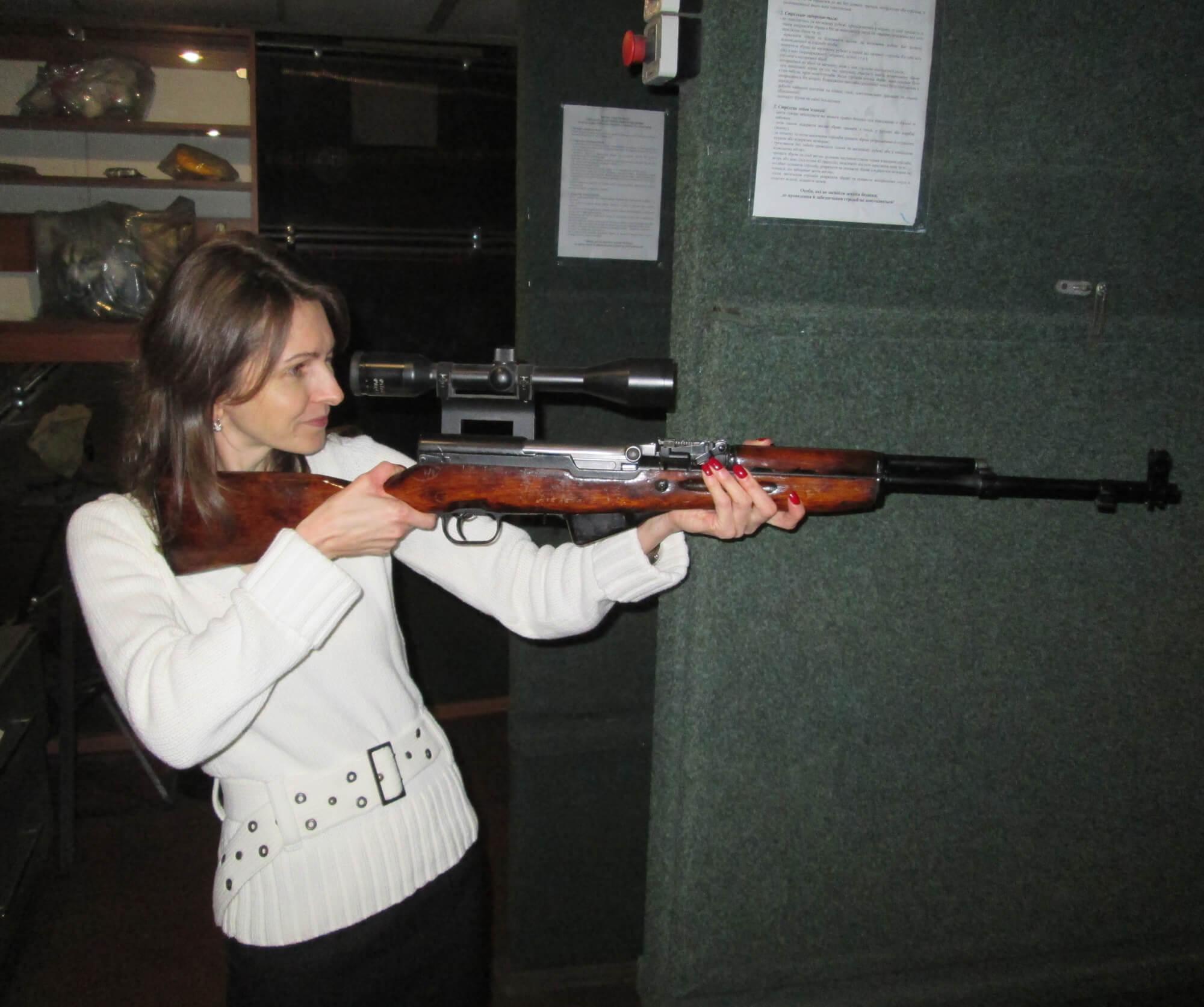 Мастер-класс стрельбы из пяти видов оружия