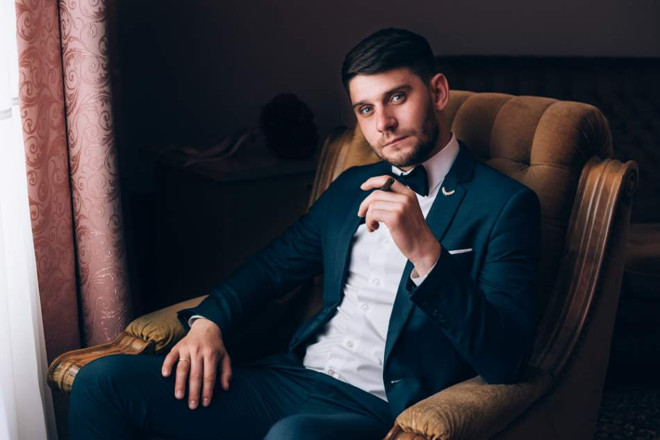 Мужская фотосессия в стиле Esquire