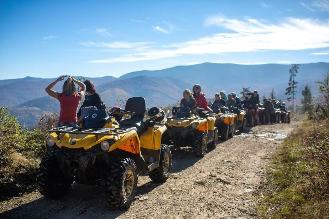 Экстрим-тур на квадроциклах в Карпатах