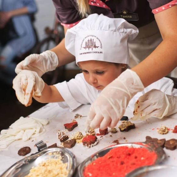 Детский мастер-класс по изготовлению конфет