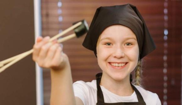 Детский мастер-класс по приготовлению суши