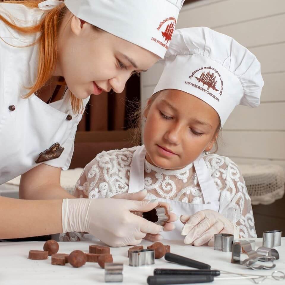 Дитячий майстер-клас з виготовлення цукерок