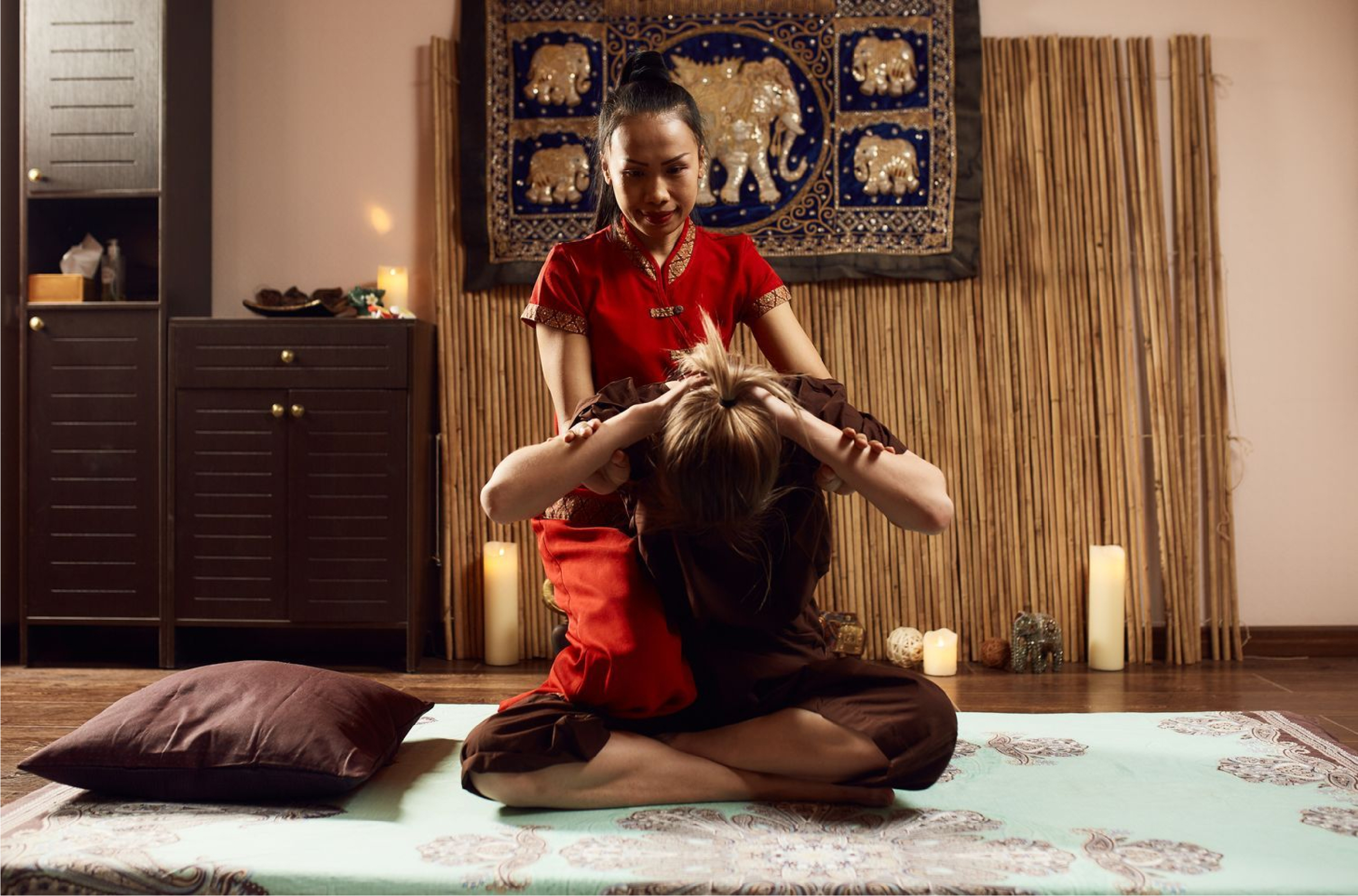 Сабай массаж