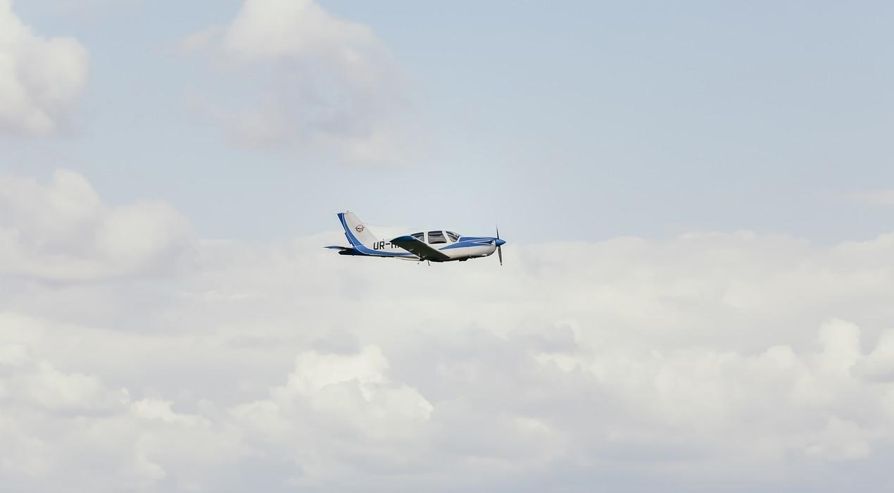 Полет на самолете над Трускавцом на четырех