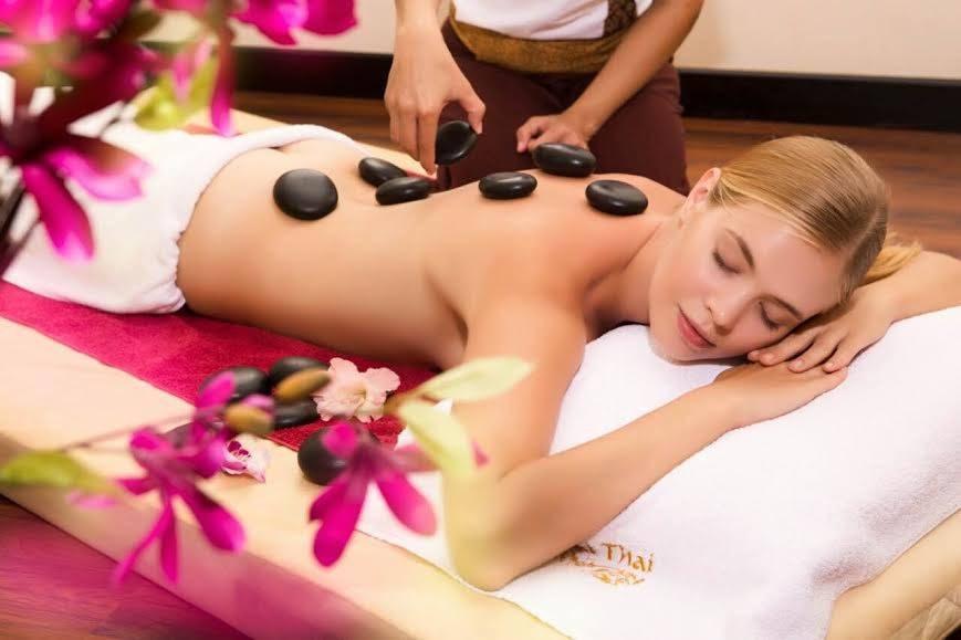 Стоун-терапия в SPA-салоне «Wai Thai»