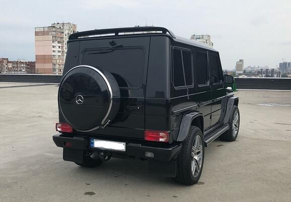 VIP-прогулянка на Mercedes G500