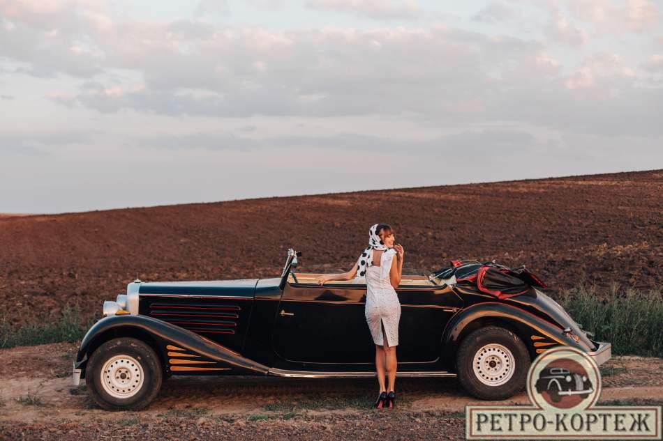 Катание на Ретро-автомобиле Maybach SW42