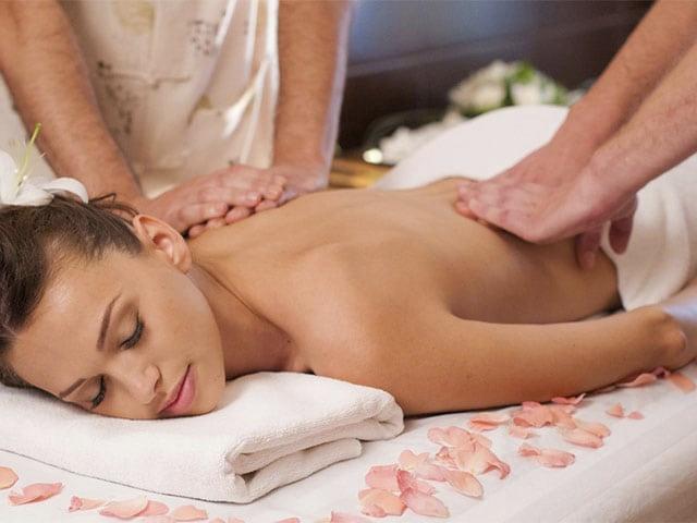 Традиционный массаж тела в 4 руки