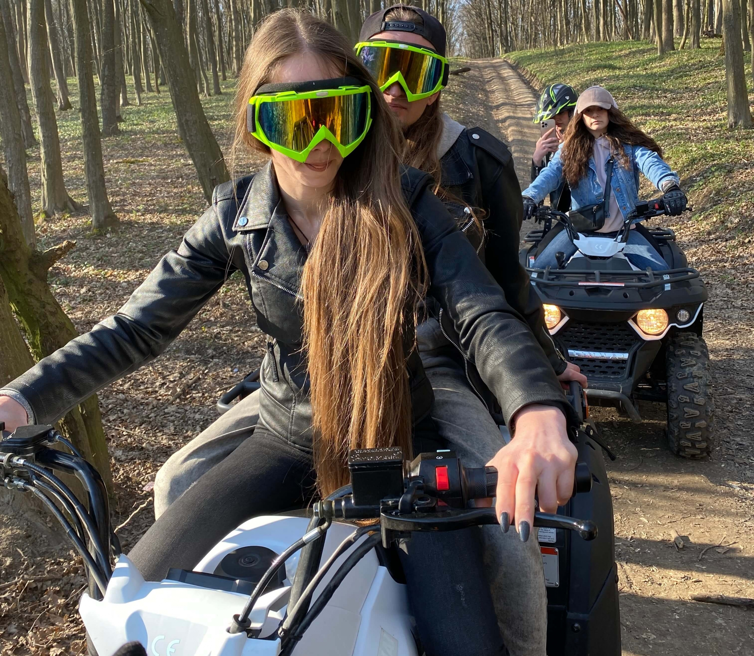 """Катання на квадроциклі в Тернополі """"Екстремальний маршрут"""""""