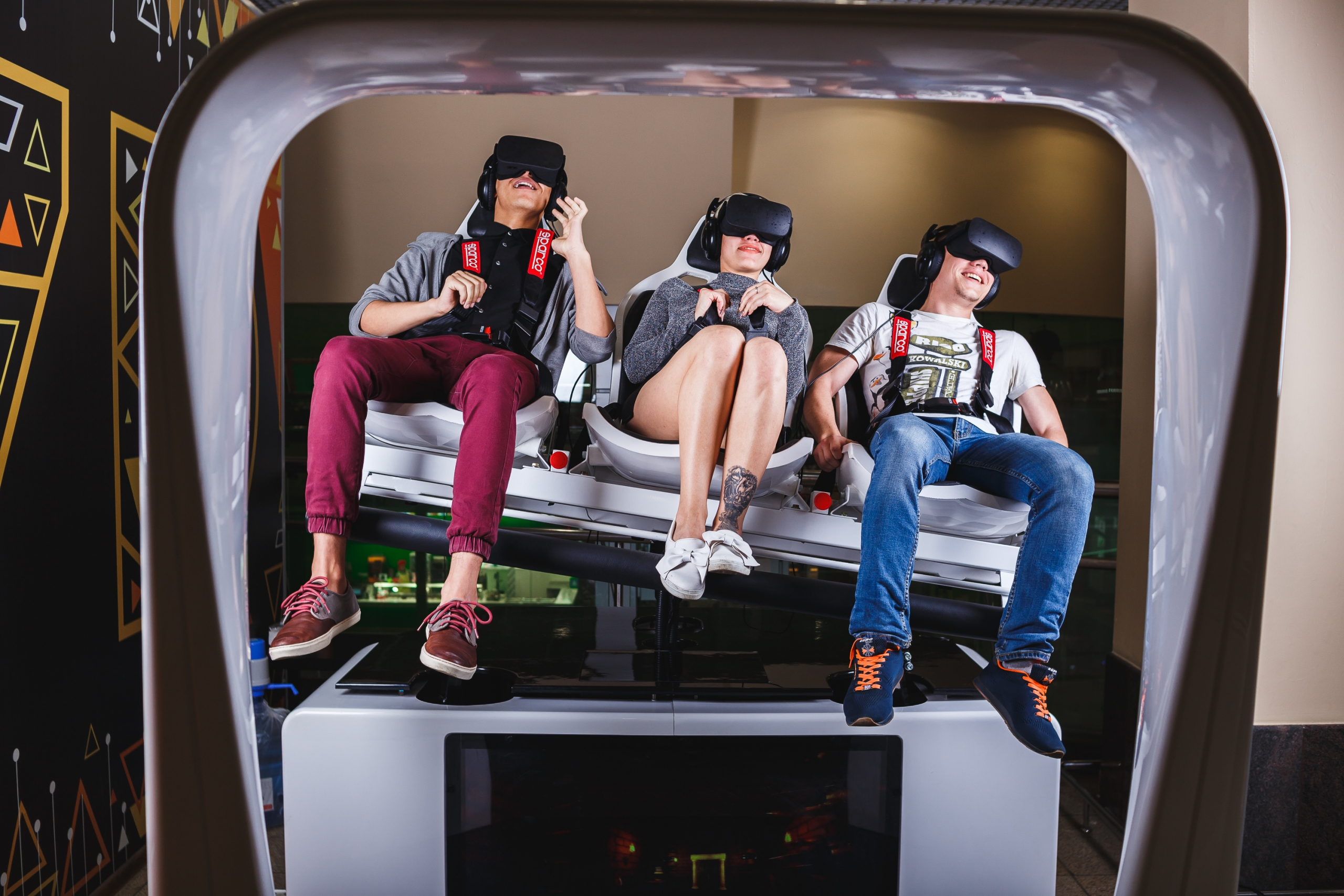 Аттракцион виртуальной реальности «XRIDE» в Ивано-Франковске