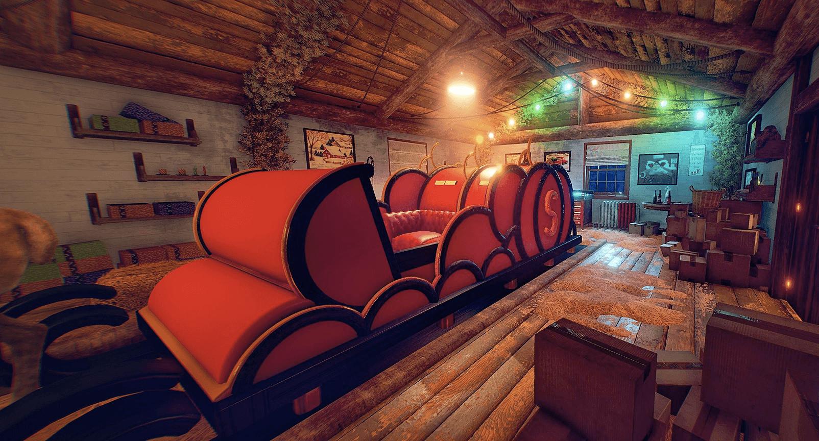 Виртуальная Квест-комната «Рождество»