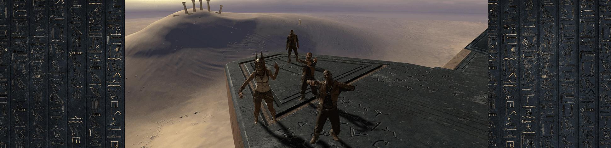 Виртуальная Квест-комната «Побег из затерянной пирамиды»