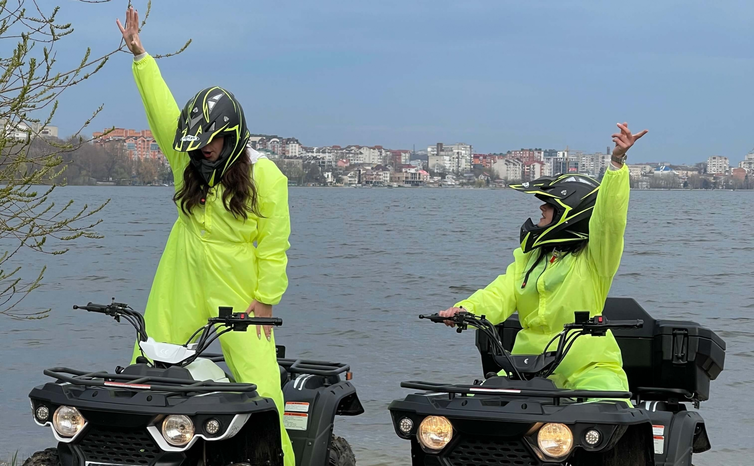 Катание на квадроцикле для двоих в Тернополе