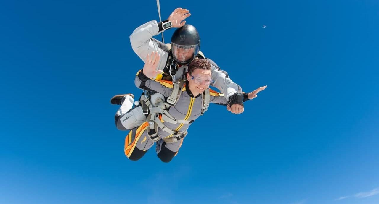 Прыжок с парашютом в Чернигове